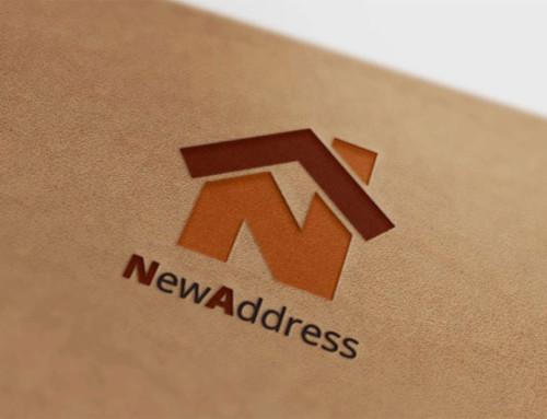 Логотип агентства недвижимости NewAddress