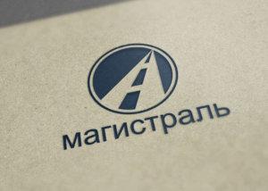 Логотип автосервиса Магистраль