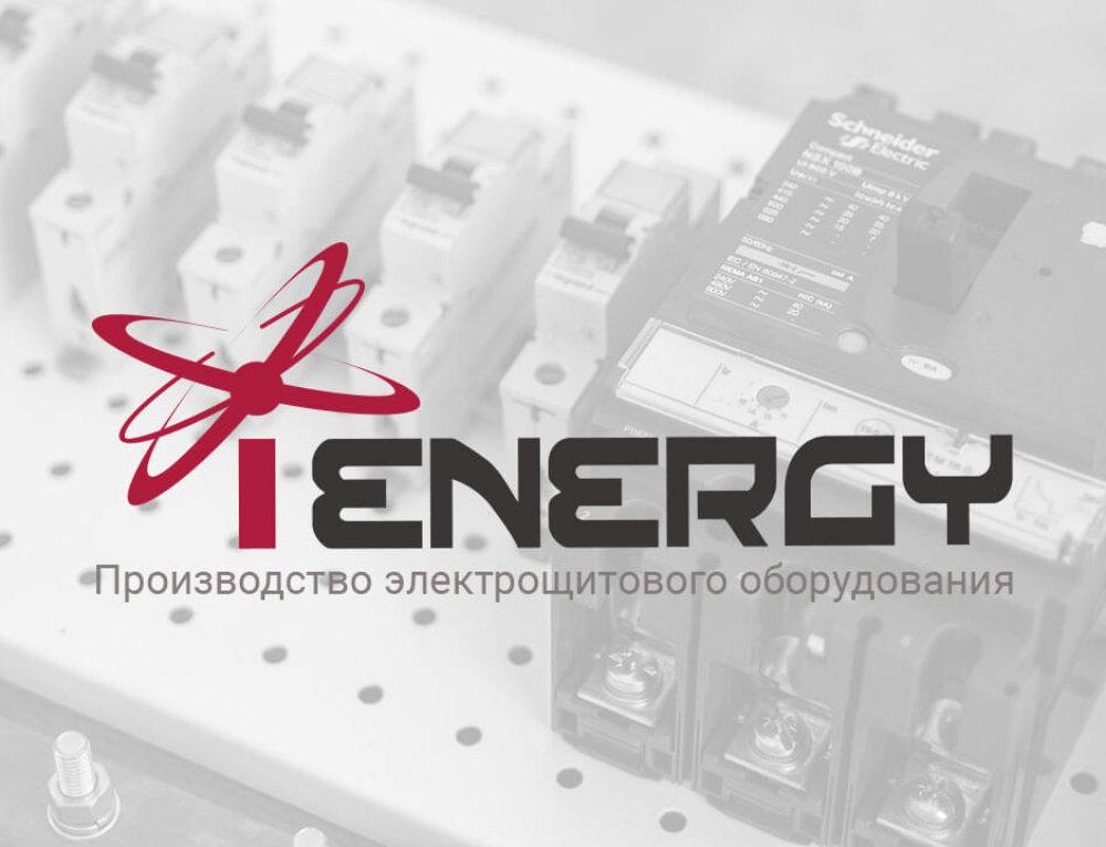 Сайт электротехнической компании iENERGY