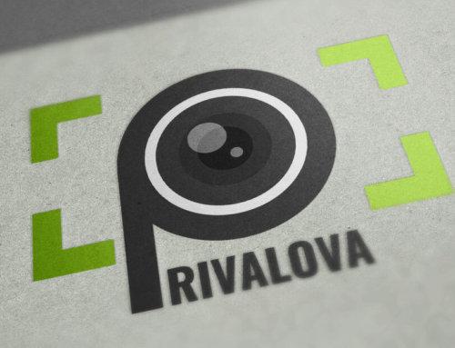 Сайт и логотип для фотографа Евгении Приваловой
