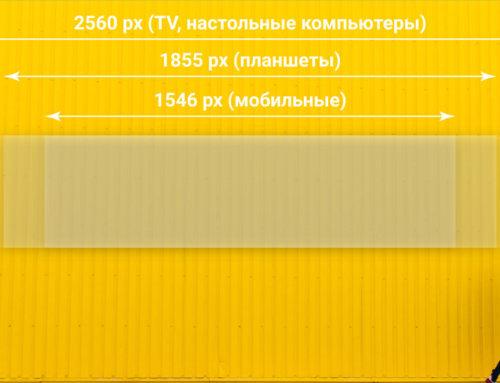 Разметка шаблонов для оформления групп в социальных сетях (Вконтакте, Facebook, Youtube)