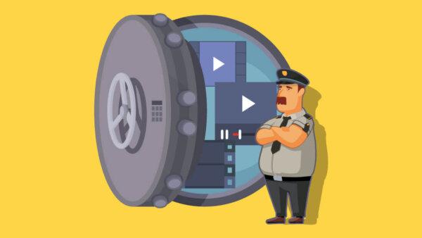 Защита видео от скачивания