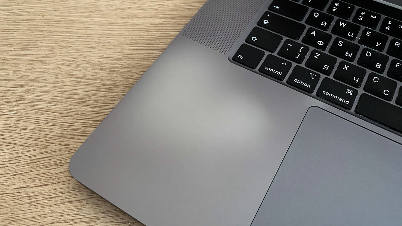 Потёртости на Macbook Pro 16